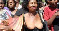 UPND women undress in protest against arrest of their leader