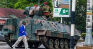 Video: Soldiers takeover streets in Zimbabwe