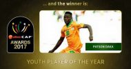 Patson Daka is 2017 African Youth Player of the Year