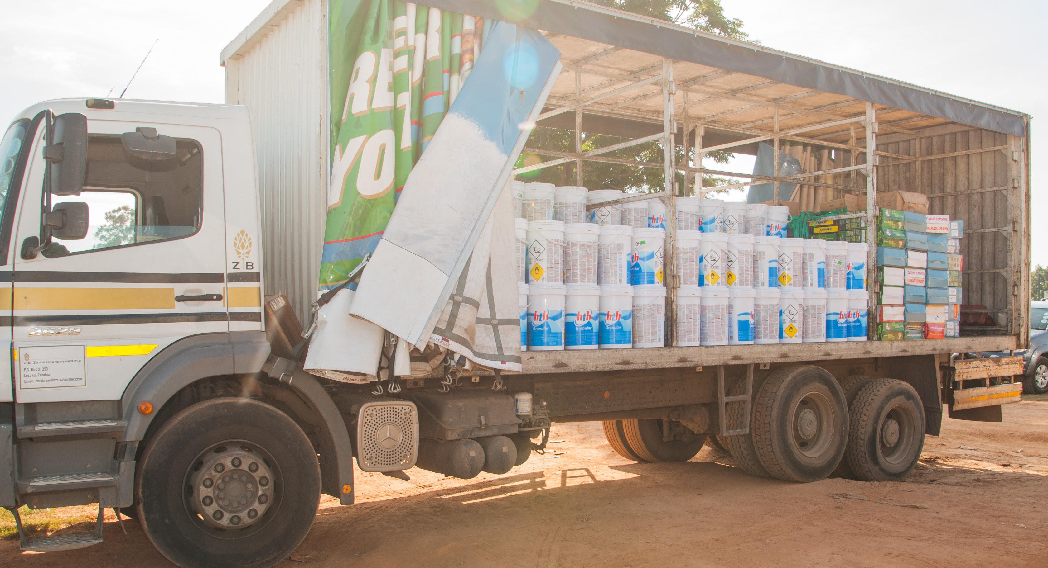 Zambian Breweries Donates To Cholera Fight