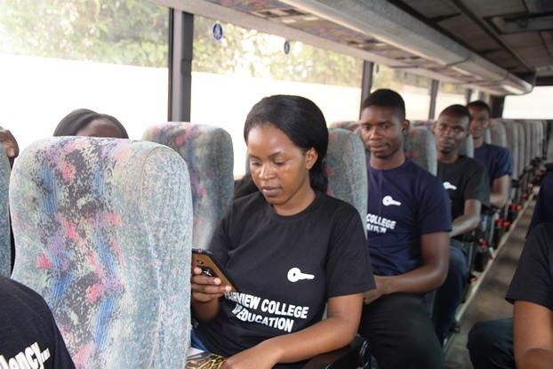 Faithview in the bus | Zambian Eye