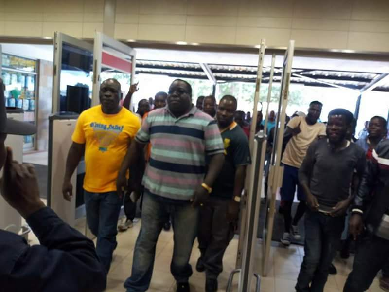 Police fish out kambwili from radio station for The fish radio station