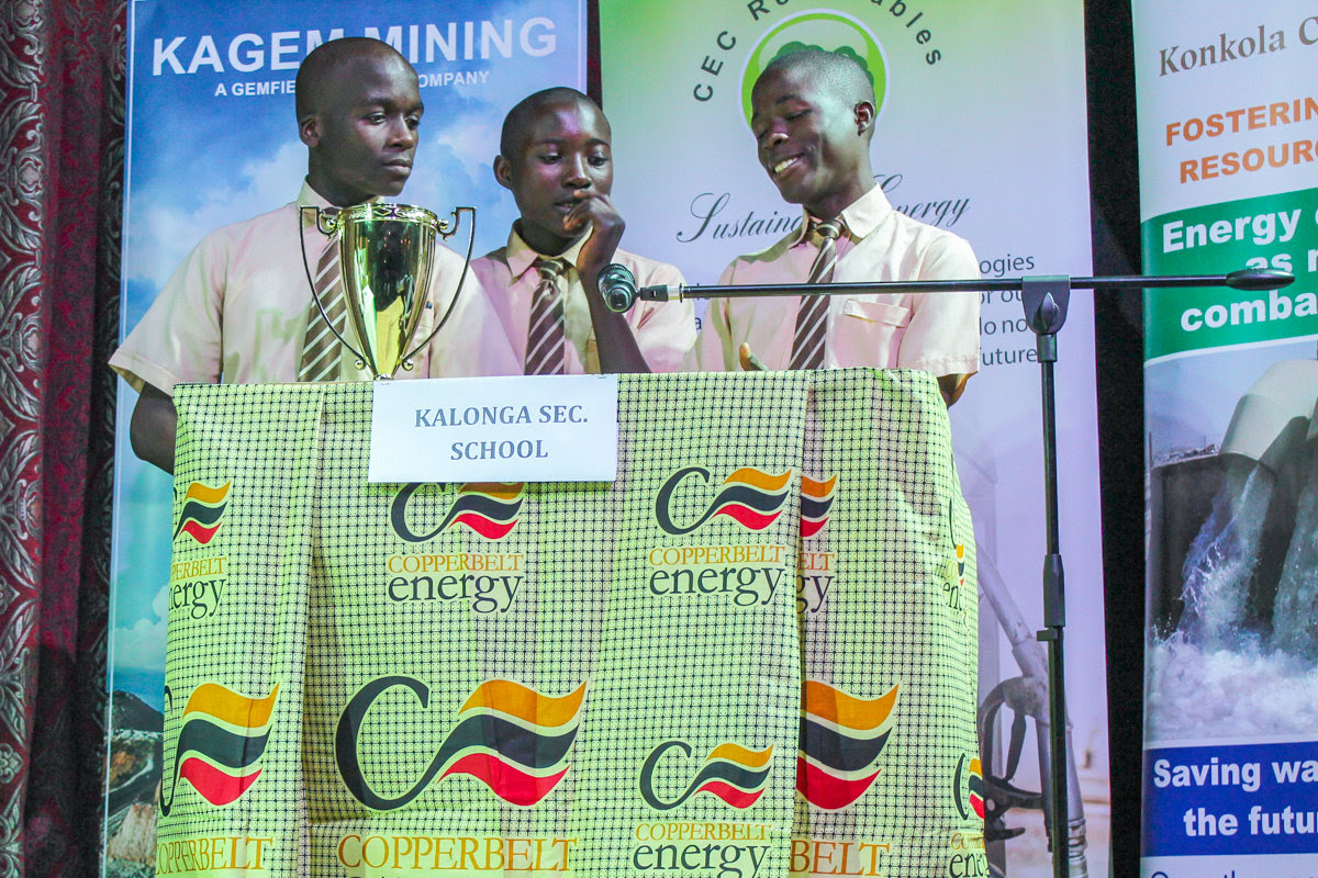 Kalonga scoops 1st Prize at the 2018 Inter-schools Quiz