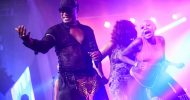 Koffi Olomide performs in Lusaka
