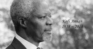 Ex-UN Secretary General Kofi Annan dies