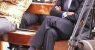 Lungu, HH ignore each other at Levy's memorial