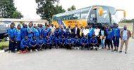 Napsa unveil K2m team bus