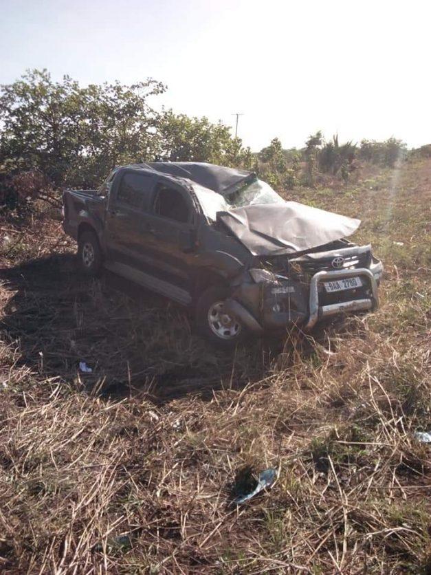 Slap Car Accident