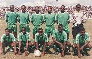 The Zambia national team that died in the Gabon Disaster