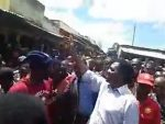 LIVE:  HH touring Namwandwe market in Chilyapa ward of Mansa Central