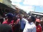 LIVE:  HH touring Namwandwe market in Chilyapa ward of Mansa Central