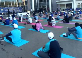 Zambians encouraged to take up yoga
