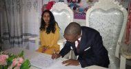 Tayali weds Ethiopian lady