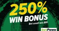 betPawa's 250% win bonus is changing the game