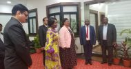 VP Wina commissions Lealui hospital, 48 cases of COVID-19 recorded