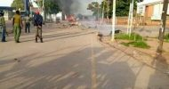 Riot in Monze, Residents attack Police Post
