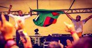 El Mukuka flies Zambia's flag high at Ultra Fest