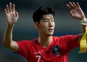 Tottenham Hotspur striker Son Heung-min exchange football boots for guns, bullets