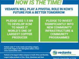 Vedanta's US$1.5 Billion in KCM
